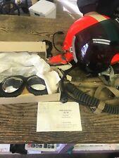 East German/ DDR Cold War Air Force Zsh-3 Flight Helmet Set