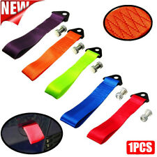 UK- Tow Strap Belt Universal Recovery Hook For JDM Racing Race Cars Drift Rally