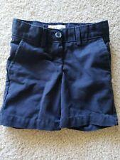 Dennis School Uniform Navy Shorts Girls Size 5