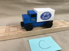 Mister Rogers Speedy Delivery Truck 2005 Compatible w Thomas Brio Wooden Train C