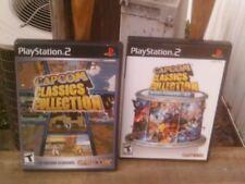 Capcom Classics Collection Vol. 1 & 2 Bundle Playstation 2 COMPLETE