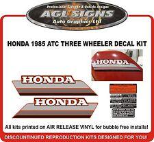 1985 HONDA ATC 250ES Decal kit  reproductions  250 ES