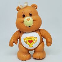 Vintage Care Bears Poseable Figure Champ Bear 1983 Kenner Trophy