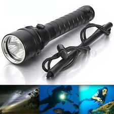 Waterproof 50000Lm 3x T6 Led Scuba Diving Flashlight Underwater 100M Torch 18650