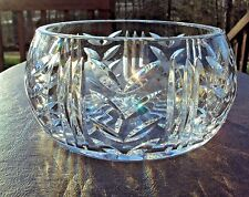 Wonderful Waterford Cut Glass Bowl - Signed