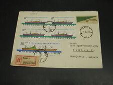 Poland 1961 registered cover to Switzerland *3408