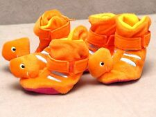 Casual Canine Dino Dog Slippers Soft Plush Shoes Dinosaur Puppy Booties Set of 4