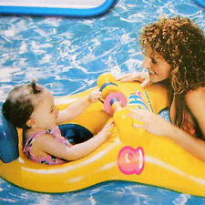 Inflatable Mother & Baby Swim Float Raft Kid's Chair Seat Swimming Ring Pool
