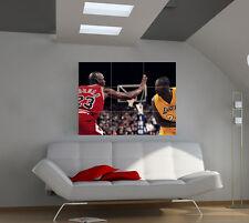 Michael Jordan large giant games poster print photo mural wall art ipx41