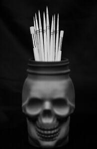 Ghost Miniature Paint Brush Set 8 Detail Paintbrushes & 2 Dry Brushes