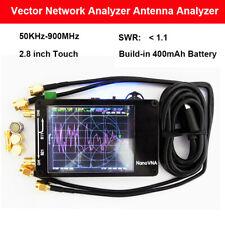 Nanovna 50khz 900mhz Vector Network Analyzer Uhf Uv Vhf Hf Vna Antenna Analyzer