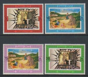 Montserrat - 1972, Easter set - MNH - SG 287/90