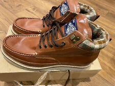 Superdry Mens Brown Mountain Boots Brand New With Box Size 9
