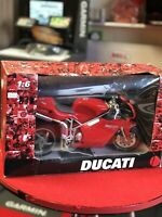 Ducati 998 Red 1:6 Scale Model Motorbike Newray Boxed Rarity