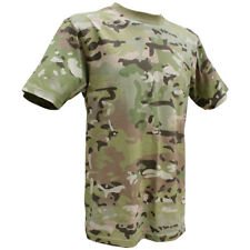 Viper Tactical Army Combat T-Shirt Military Camouflage Top Mens Cotton Tee V-Cam