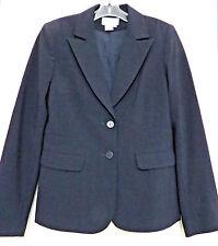 Charles Gray London Black Wool Blend Blazer Jacket Womens 6