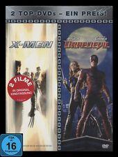 DVD X-MEN 1 + DAREDEVIL - 2 Filme im Doppelpack (Dare Devil) alte FSK ** NEU **
