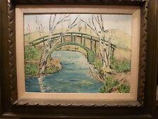 Vida Miller  Oil Painting Impressionist Landscape signed
