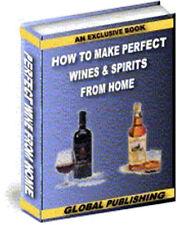 Make Your Own Fine Wine & Spirits At Home + bonus on CD