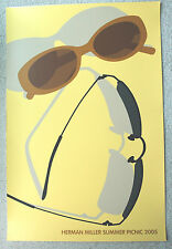 2005 Herman Miller Summer Picnic Poster Sunglasses NEW