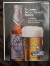 1986 Print Ad GUINNESS Kaliber Non-Alcoholic BEER Brew