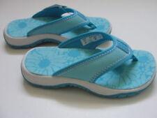 NWT Girls LANDS END Thong Sandals Shoes Flip Flops 9 T