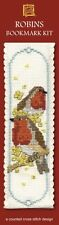 Textile Heritage Collection Cross Stitch Bookmark Kit - Robins