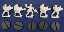 GW 40K Astra Imperial Guard CADIAN OFFICER COMMAND SQUAD New OOP Metal