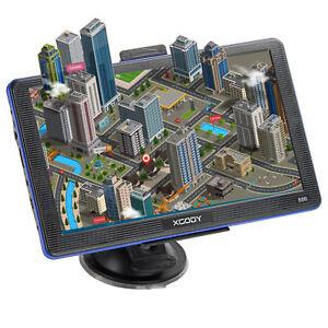886 7inch GPS Navigation 256MB 8GB FM Lane Assist SAT Free Map Update Gps