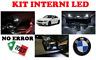 KIT LED INTERNI BMW X3 F25 CONVERSIONE COMPLETA 6000K ULTRALUMINOSI WHITE