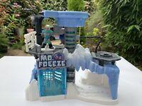 "Mattel Batman Mr Freeze Playset House + Mr Freeze Action Figure - House Size 11"""