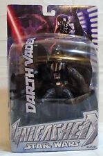 Star Wars Unleashed Empire Strikes Back Darth Vader Leaping Steps Figure Mosc