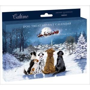 Treats For Your Dog Traditional Advent Calendar - 24 Door Pet Christmas Novelty