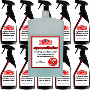 RALLY N RACE SPEEDLUBE CAR DETAILING CLAY BAR LUBRICATION - MAKES 5 LTRS OF LUBE