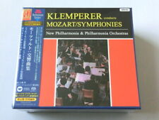Otto Klemperer Mozart Symphonies 5 SACD Hybrid Box Set TOWER RECORDS JAPAN