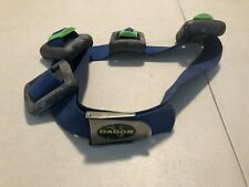 Dacor Blue weight belt and 10 pound weighted for Scuba Deep Sea diving a5u