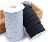 10M High Quality Strong Elastic Bands Sewing Ribbon DIY Craft Supplies 3~14mm