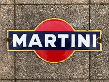 Old Martini Enamel Sign