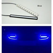 2x Super Bright Blue Car COB LED Lights -DRL Fog Driving Lamp Waterproof DC 12V