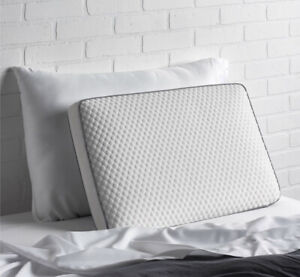 ELLA JAYNE SUPER COOLING GEL TOP MEMORY FOAM PILLOW DUAL COVER -NWT