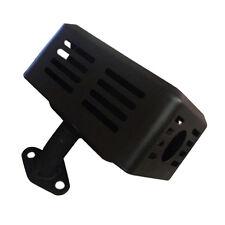 MUFFLER EXHAUST + HEAT SHIELFOR FOR HONDA GX110 GX120 GX140 GX160 & GX200 L6Q1