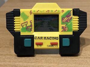 Vintage 1980's Car Racing LCD Handheld Electronic Game Working VGC