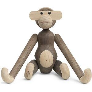 "Brand New Kay Bojesen ""Monkey"" 20 cm, Smoked Oak and Oak, Abe"