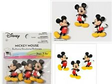 DISNEY DRESS IT UP BUTTONS  - MICKEY MOUSE - 3 BUTTONS -  POSTAGE DEAL