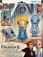 ❄️Disney Frozen 3D Figure Maker Clay Mold N Play Elsa *Buy 4 Items Get 1 Free!❄️