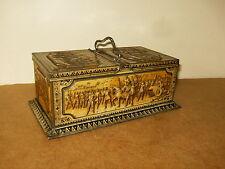 RARE ancienne boite à biscuit en tôle HUNTLEY & PALMER LTD - Reine ELISABETH I