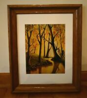 Limited Edition Framed Matted Art Print Eternal Reflections Signed Number 1
