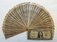 36 - 1935 A -United States-Hawaii-Silver Certificates- $1- Brown Seal-Low Grade