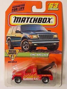 SUPER  RARE 💥 VINTAGE Matchbox MB 63  GMC WRECKER Series 9💥1:72  1987