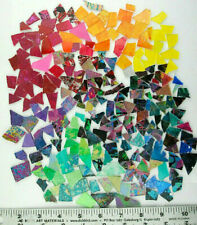 1 pound bag of Mixed Color Scraps! Glass Mosaic Tile by Makena Tile